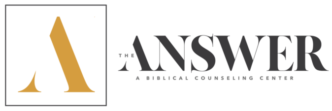 The Answer: A Biblical Counseling Center Logo
